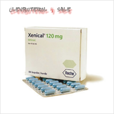 Xenical Packaging 84 caps each cap 120mg