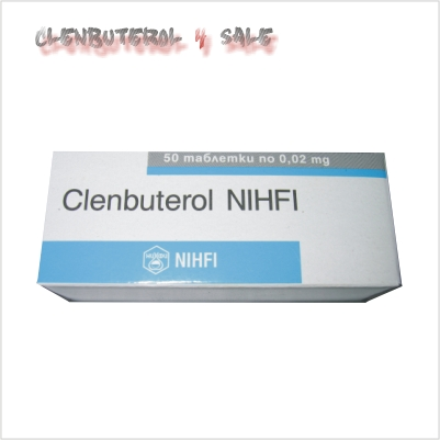 Clenbuterol 20 mcg 50 tabs