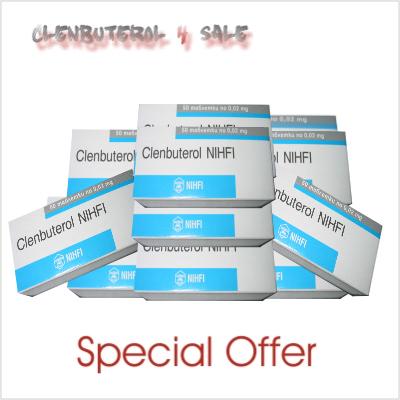 Clenbuterol 10 boxes 500 tabs / 20mcg